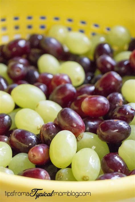 grapes cream fruit salad