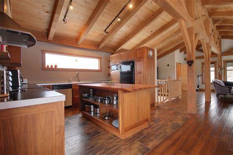 cuisine pour chalet cuisine de chalet de montagne habitation kyo photo n 33