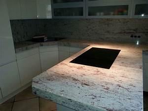 Bonn Ivory Brown Granit Arbeitsplatte