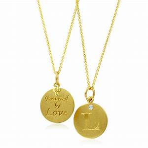 initial necklace letter l diamond pendant with 18k yellow With gold necklace with letter l