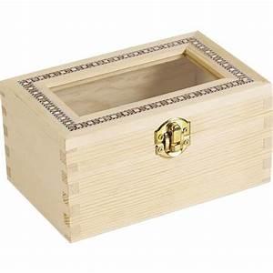 Boite A Bijoux En Bois : boite bijoux en bois brut achat vente boite a bijoux boite bijoux en bois brut cdiscount ~ Teatrodelosmanantiales.com Idées de Décoration