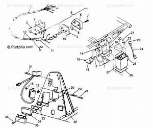 Polaris Atv 1994 Oem Parts Diagram For Electrical