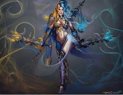 Paladin Knight Death Concept Female Character Deviantart