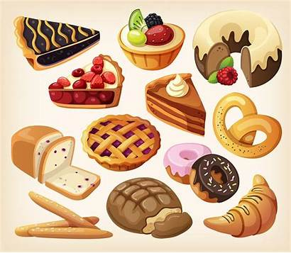 Processed Fat Eating Foods Bakery Sick Refined