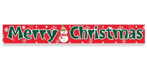 merry christmas foil banner 3 65m christmas decorations