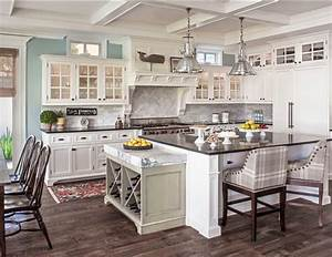 i love this kitchen re do they painted the walls sherwin With kitchen colors with white cabinets with wall art grouping ideas