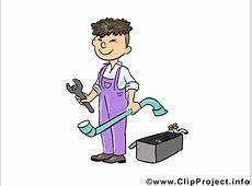 Handwerker, Schlosser Clipart, Bild, Cartoon, Illustration