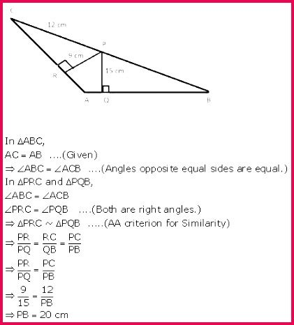 class  notes maths projection side triangle overview