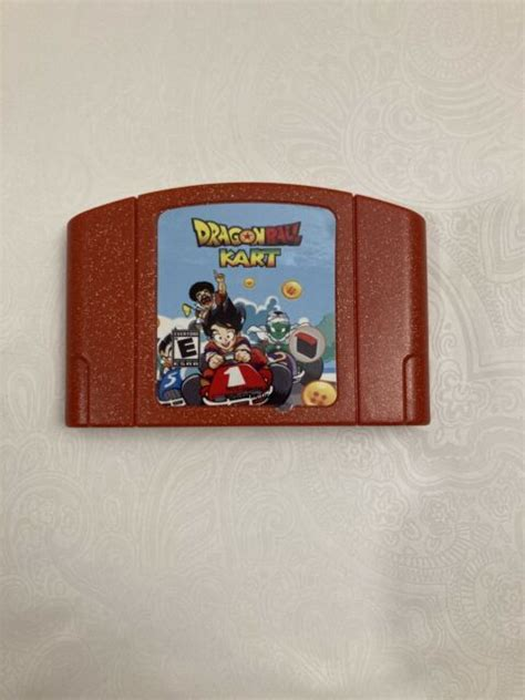 """Download dragon ball z sagas rom for gamecube and play dragon ball z sagas video game on your pc, mac, android or ios device! Dragon Ball Kart Nintendo 64 N64 """"Reproduction"""" Brand New 