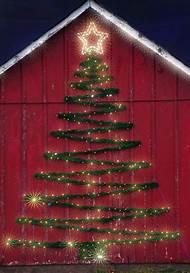 christmas tree light ideas outdoor