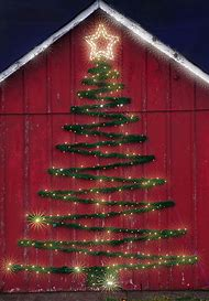 outside christmas trees decoration ideas
