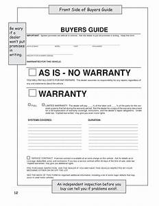best photos of as is no warranty bill of sale form used With vehicle bill of sale as is template