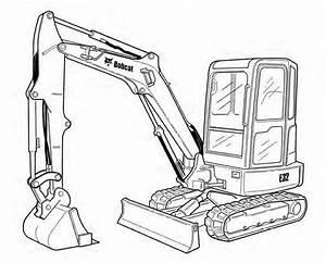 Bobcat E32 Compact Excavator Service Repair Manual