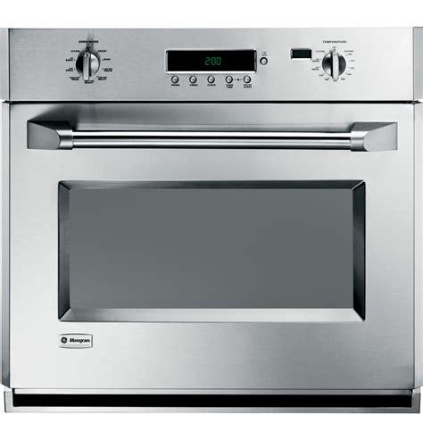 range electric oven zet1pmss ge monogram 30 quot professional electronic