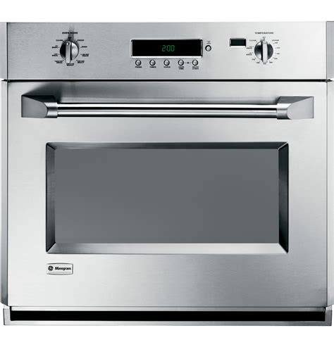 ge monogram  professional electronic convection single wall oven zetpmss ge appliances