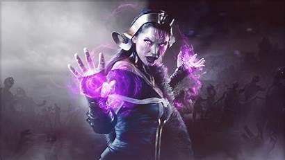 Magic Gathering Liliana Arena Vess Necromancer Fantasy