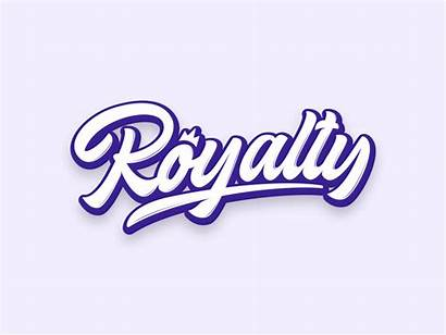 Royalty Brand Clothing Script Crown Calligraphy Font