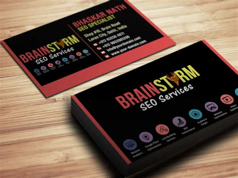 Seo Business by Seo Business Card Sles Exles Startupguys Net