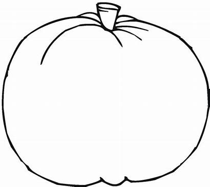Pumpkin Drawing Simple Coloring Printable Pages Scary