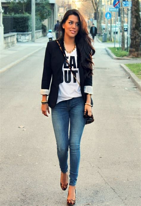 17 Black Blazer Outfit Ideas - fashionsy.com