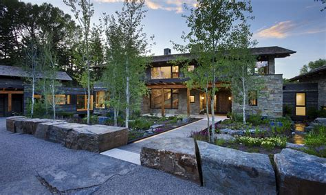 Rustic Wood And Stone Homes Wood And Stone Home Designs