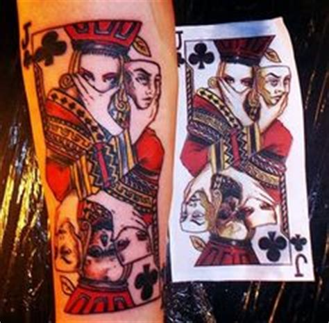 playing card tattoo ideas images playing card
