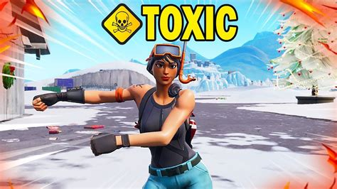 met   toxic fortnite player  duos youtube