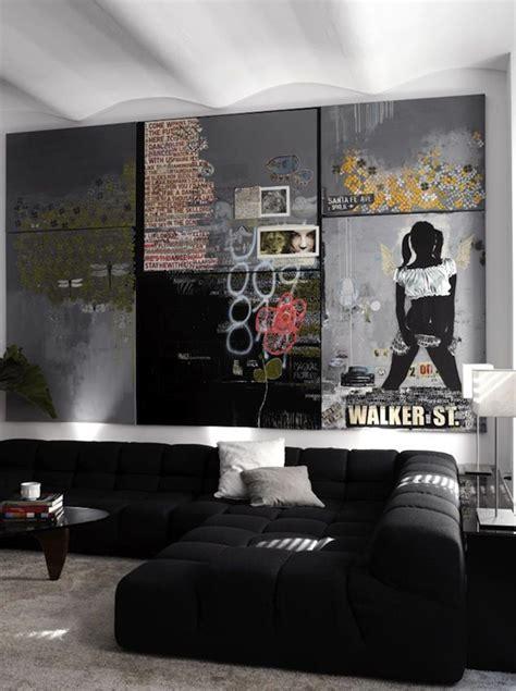 wall for bachelor pad living room 20 masculine bachelor pad living rooms decorazilla design blog