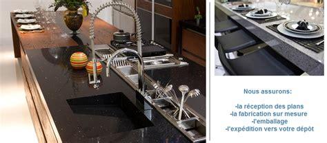 cout cuisine sur mesure quartz production plan de travail de cuisine en quartz