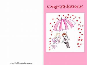 6 best images of free printable wedding greeting cards With wedding shower card printable free