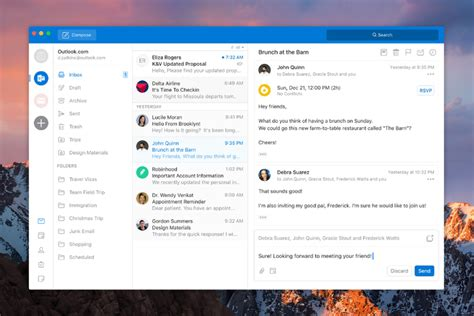 Office 365 Outlook On Mac by Microsoft Is Redesigning Outlook For Mac And Windows The