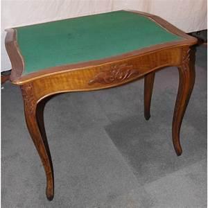 Table En Noyer : table jeux napol on iii en noyer sur moinat sa antiquit s d coration ~ Teatrodelosmanantiales.com Idées de Décoration