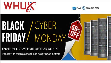 updated web hosting uk black friday cyber monday deals
