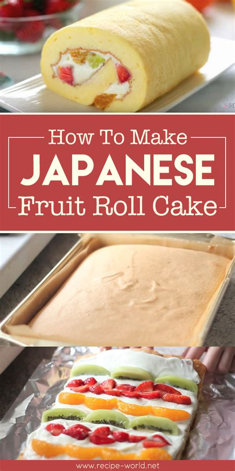how to make a cake roll recipe world how to make japanese fruit roll cake recipe world