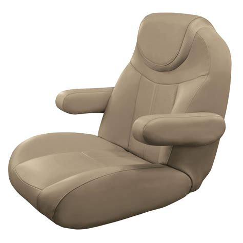 Pontoon Reclining Captains Chair by Wise 174 Big Bass Blast Tour Series Boat Seats