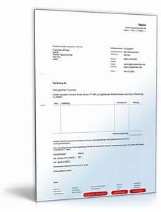 Rechnung Sofort Fällig Formulierung : rechnung export muster zum download ~ Themetempest.com Abrechnung
