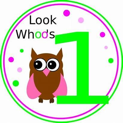Birthday Owl Clip Clipart 1st Cliparts Happy
