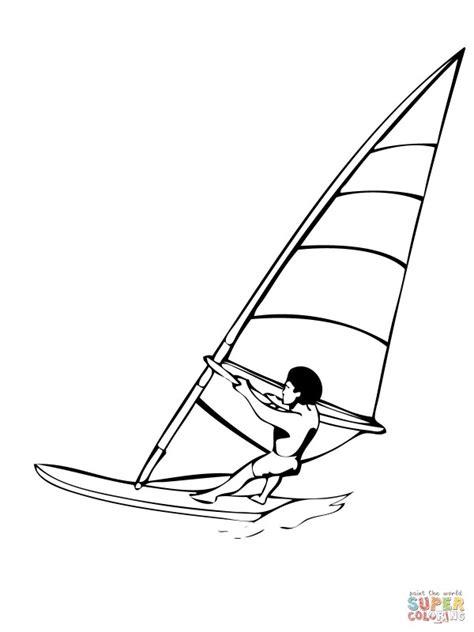 imagenes  colorear de windsurf colorear imagenes