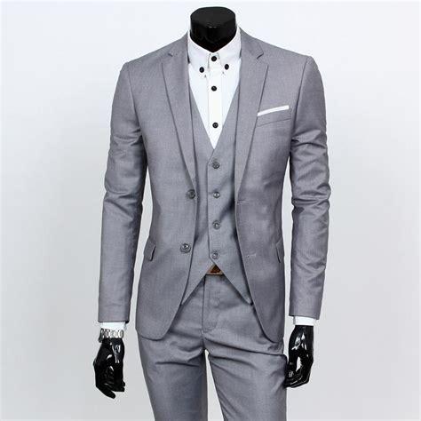 mens light grey dress pants new 2016 mens light grey suits jacket pants formal dress
