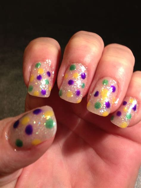mardi gras nail designs mardi gras nails and simple on