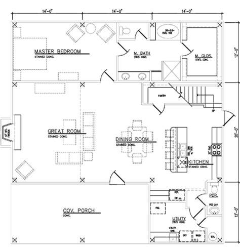 Pole Barn House Floor Plans