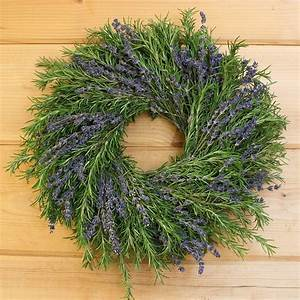 Lavender Wreath w/ Rosemary - Wreaths By Creekside Farms