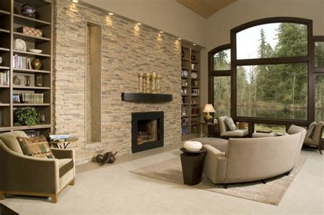 Living Room Accent Wall Fireplace by The Ambience Effect Living Room 43 Sles Wall