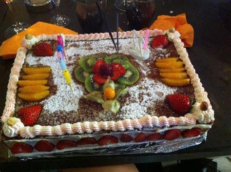 g 226 teaux g 233 noise aux fruits frais fait pour mon anniversaire picture of casa st laurent