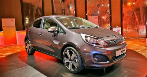 syaiful dev  kia rio sedan red cool