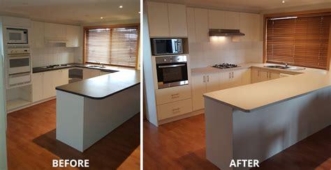kitchen facelift renovations bayside melbourne