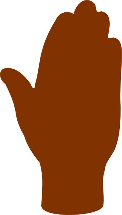 human hand stop clip art  clkercom vector clip art