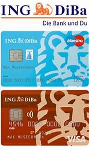 Ing Diba Visa Abrechnung : girokonto mit kreditkarte 3 testsieger banken f r gratis kontof hrung ~ Themetempest.com Abrechnung