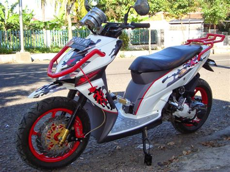 Modifikasi Motor Matic Beat by Gambar Motor Matic Honda Beat Cw Modifikasi Terbaru