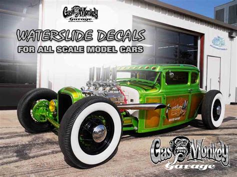Gas Monkey Garage Decals  My Custom Hot Wheels & Model Cars